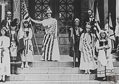1916 Independence Day Parade