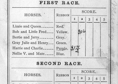 Belmont Driving Club and Racing Schedule, Merion