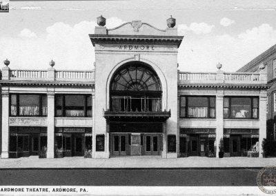 Ardmore Theater, Exterior, c1926