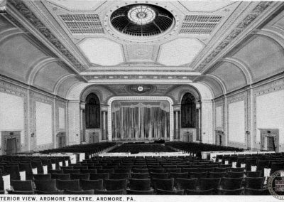 Ardmore Theater, Interior, c1926