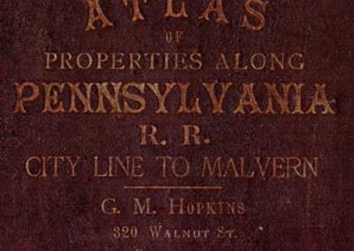 1881 Atlas Cover (Red)