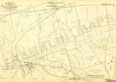 Berwyn R.R. Station (Plate 23)