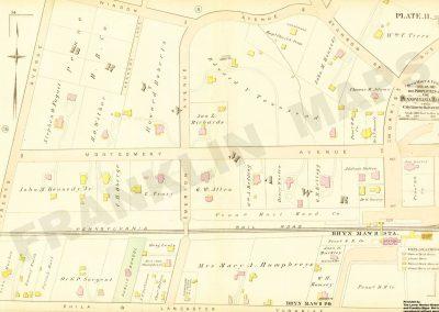 Bryn Mawr R.R. Station detail (Plate 11)