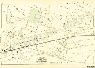 Haverford, Bryn Mawr R.R. Stations (Plate 9)