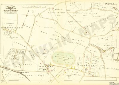 Narberth R.R Station, Cynwyd and Belmont Hills (Plate 6)