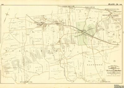Paoli and Malvern R.R. Stations (Plate 26)