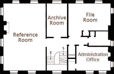 floor plan of four rooms on one floor