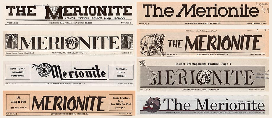 8 titles of The Merionite